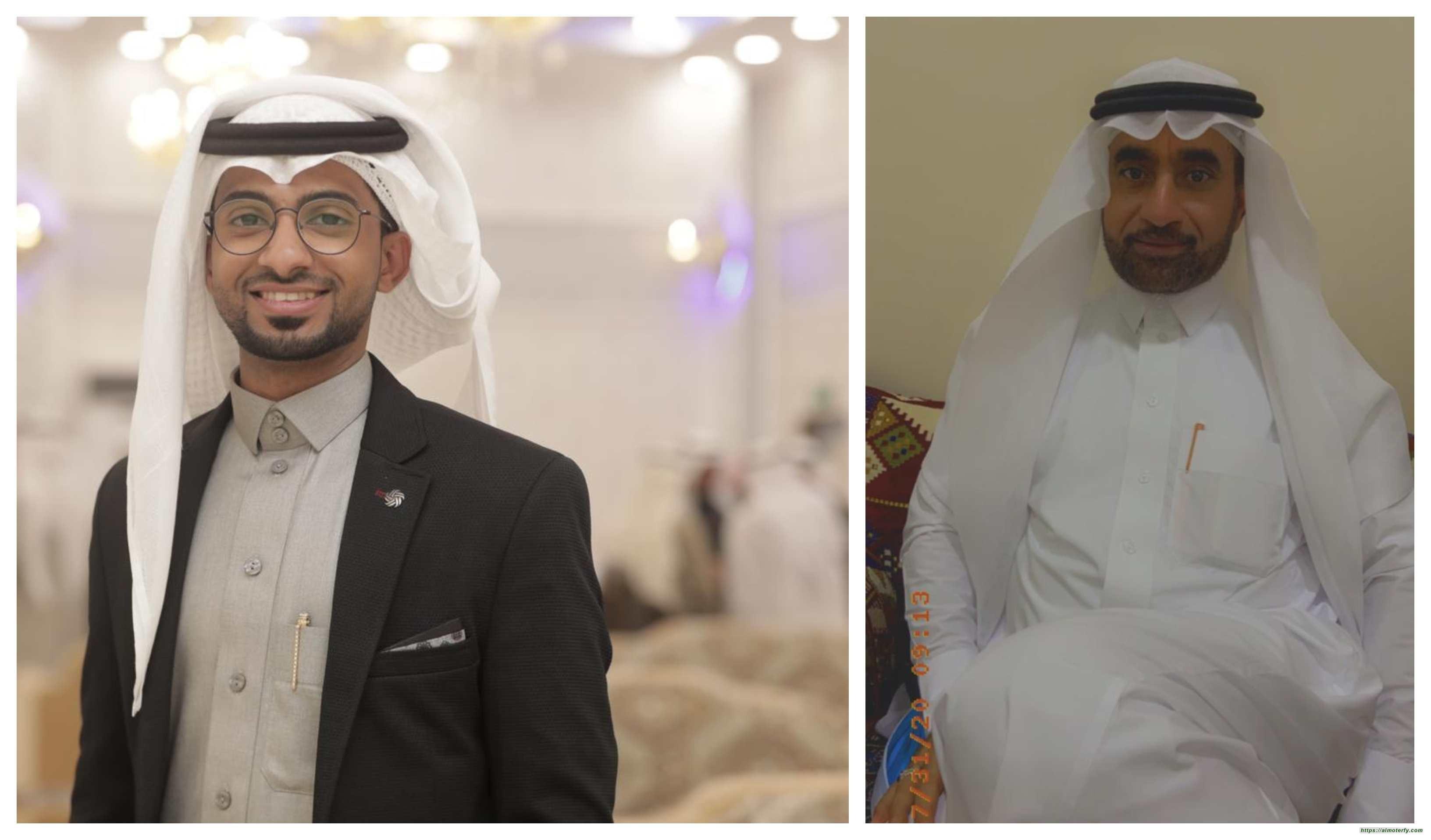 المُلازم أول بحري مُتقاعد ( محمد الحبيب ) يتلقى التهاني بقدوم الحفيد (( كيان ))