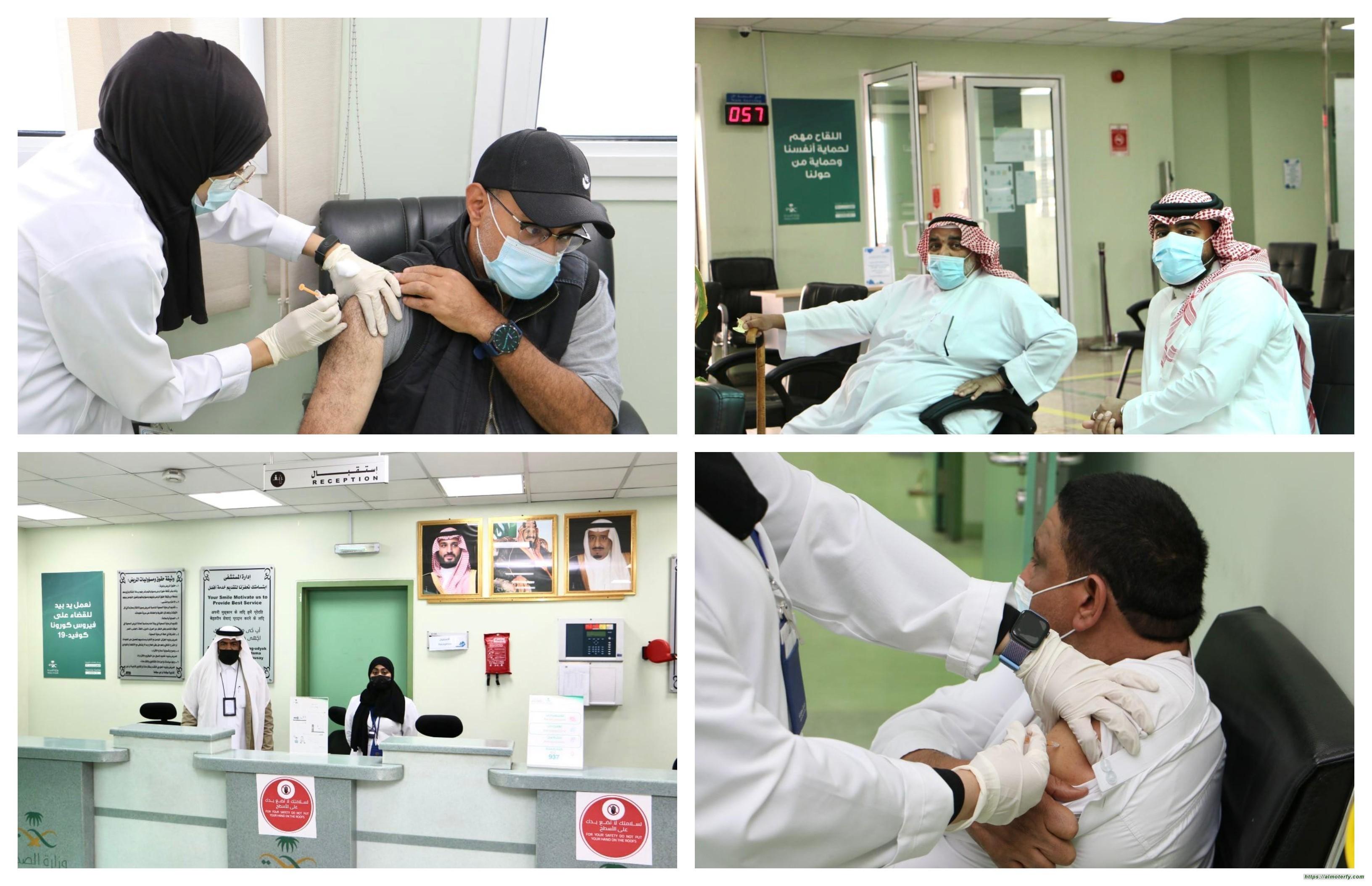 الفيصليه ثاني مركز اللقاحات في الاحساء بعد المعهد