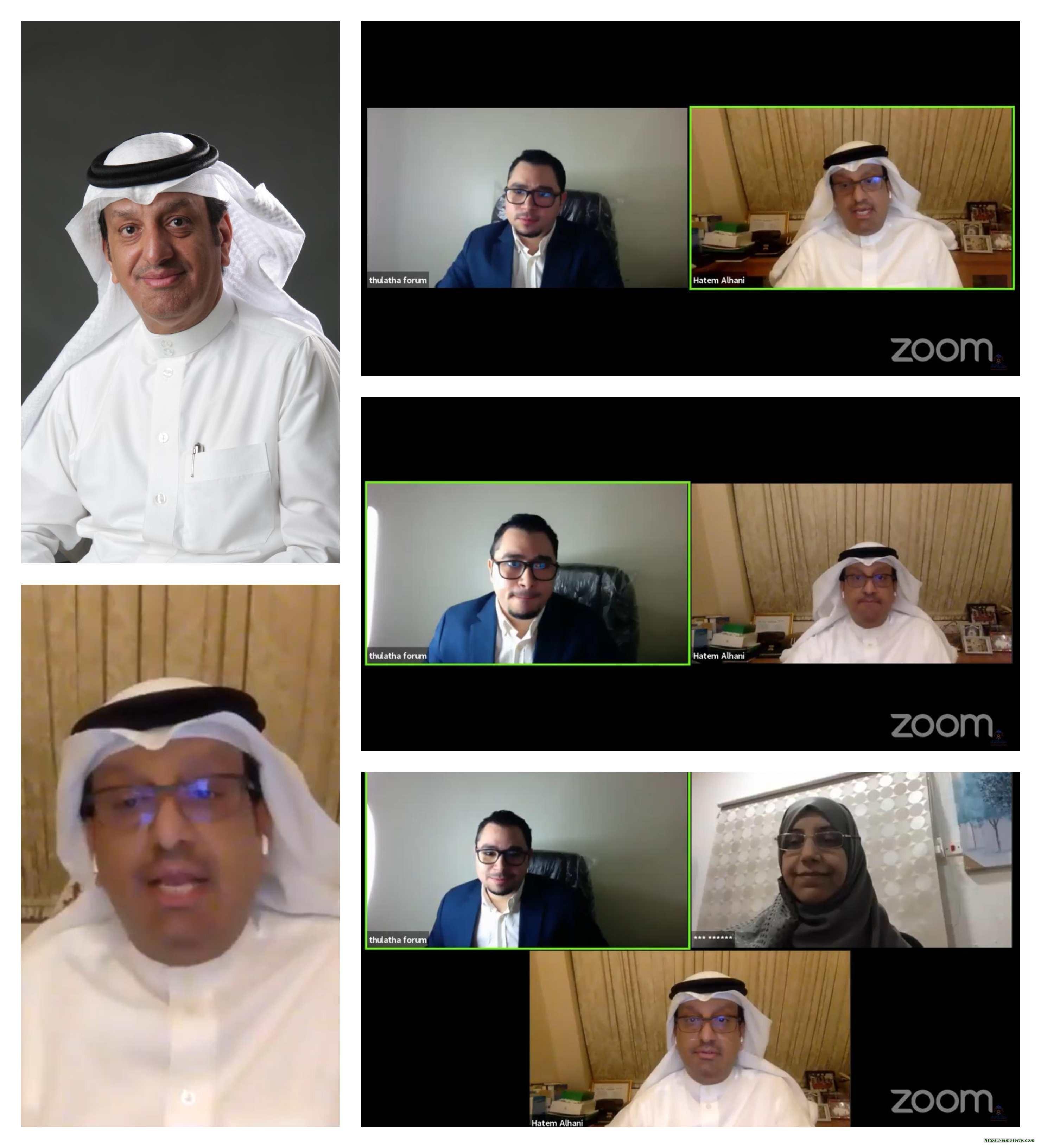 الدكتور حاتم الهاني في منتدى الثلاثاء: المملكة سجلت من افضل حالات النجاح على مستوى دول العالم في التصدي للجائحة
