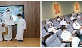 """ضمن برامج أخرى في المسؤولية المجتمعية جامعة الإمام عبد الرحمن بن فيصل وجمعية """"بناء"""" تحتفلان بتخريج 17 طالبا يتيما من برنامج تدريبي في الحاسب"""