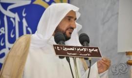 المؤمنون يحيون ذكرى وفاة امير المؤمنين وليالي القدر في جامع الامام الحسين بالمبرز