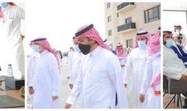 """وزير الإسكان يتفقد مشروع """"بوفارديا سيتي"""" وعدد من المشاريع في جدة"""