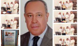 خريجو الفيصل يسطرون معاني الحب والتقدير والوفاء للدكتور عامر الحلواني