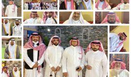 الاستاذ حسين أحمد الزهراني يتلقى التهاني والتبريكات بمناسبة الزواج