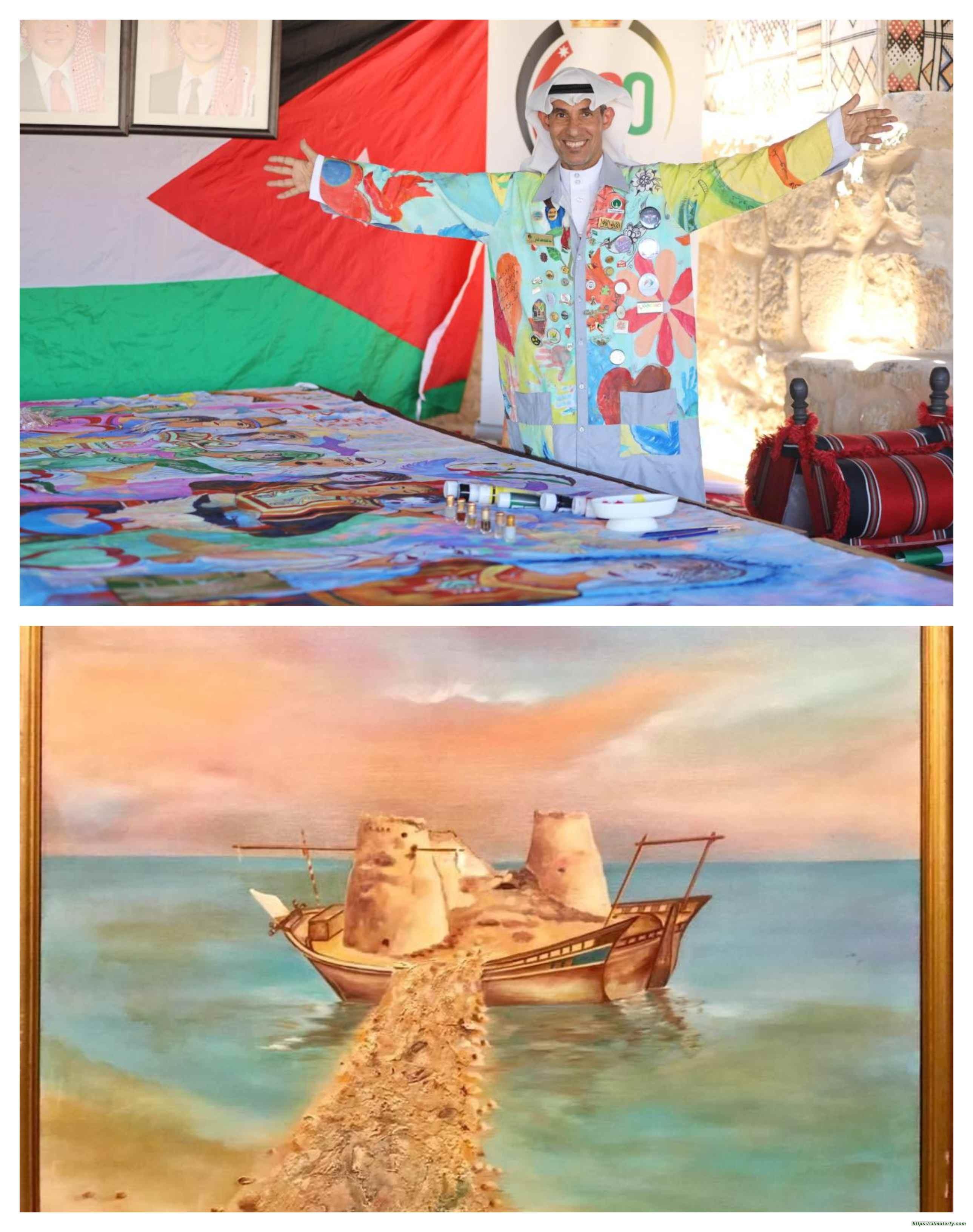 بعد الأحلام التي راودته قبل 30 سنة الفنان الضامن يؤكد : حلمي ليس ببعيد وفق رؤية المملكة جيفري أعلنها والنتائج ستحقق الدهشة بجمال جزيرة تاروت