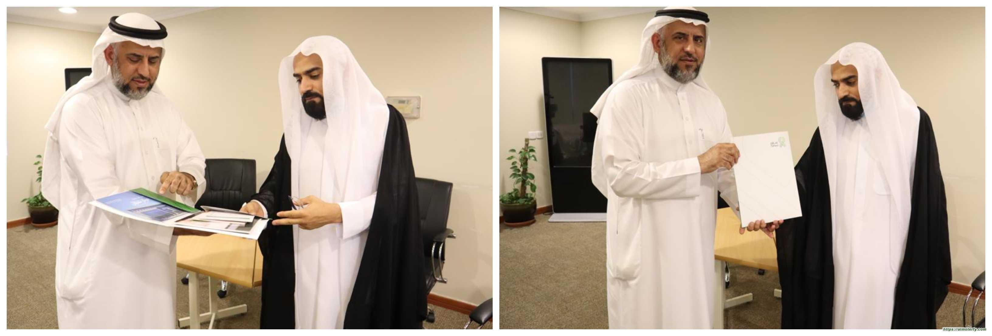 السيد باقر السلمان  يزور مقر جمعية مكافحة السرطان الخيرية بالأحساء(تفاؤل)