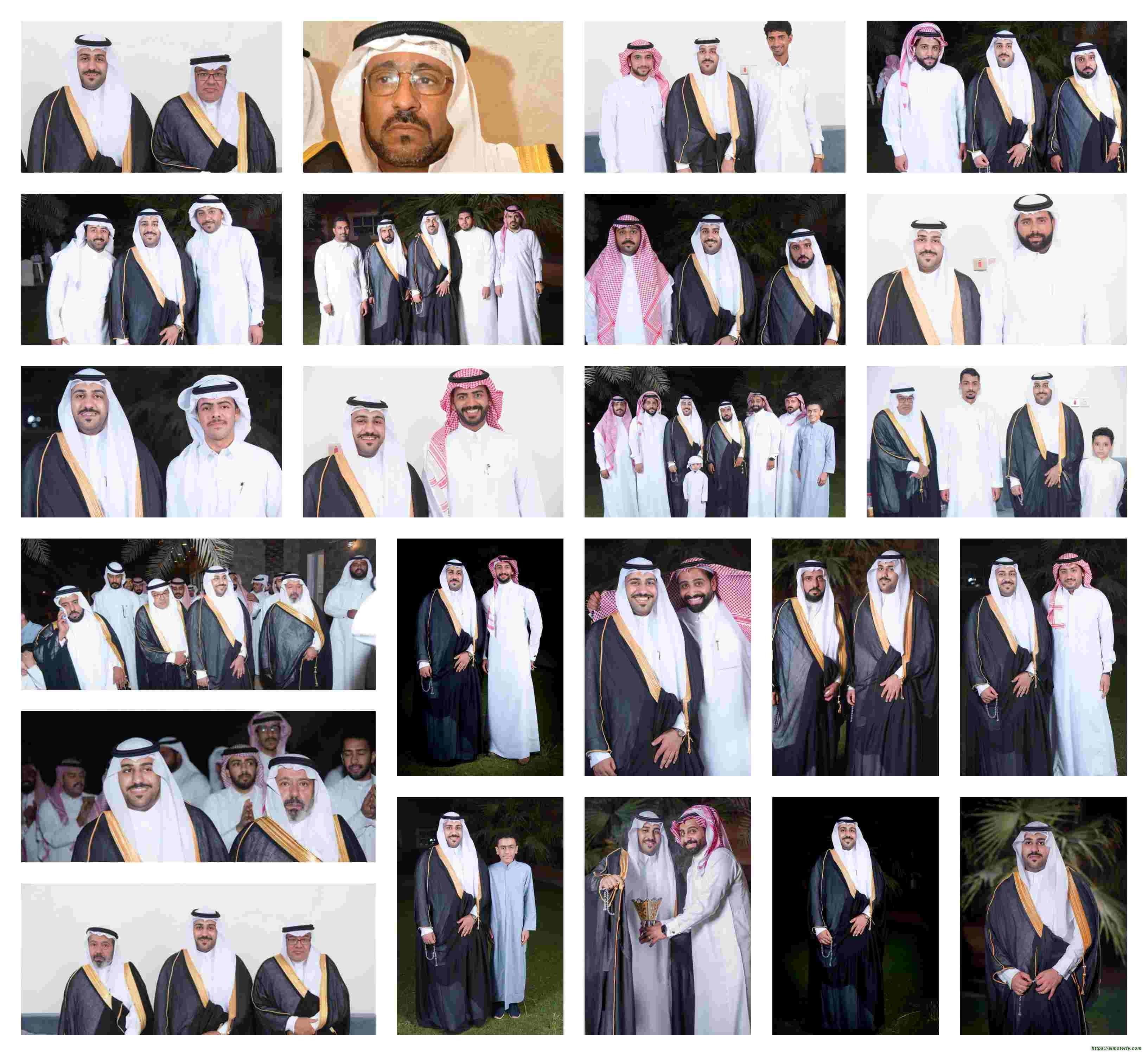 عائلة العبداللطيف تحتفل بزفاف نجلها ( كميل ) تهانينا
