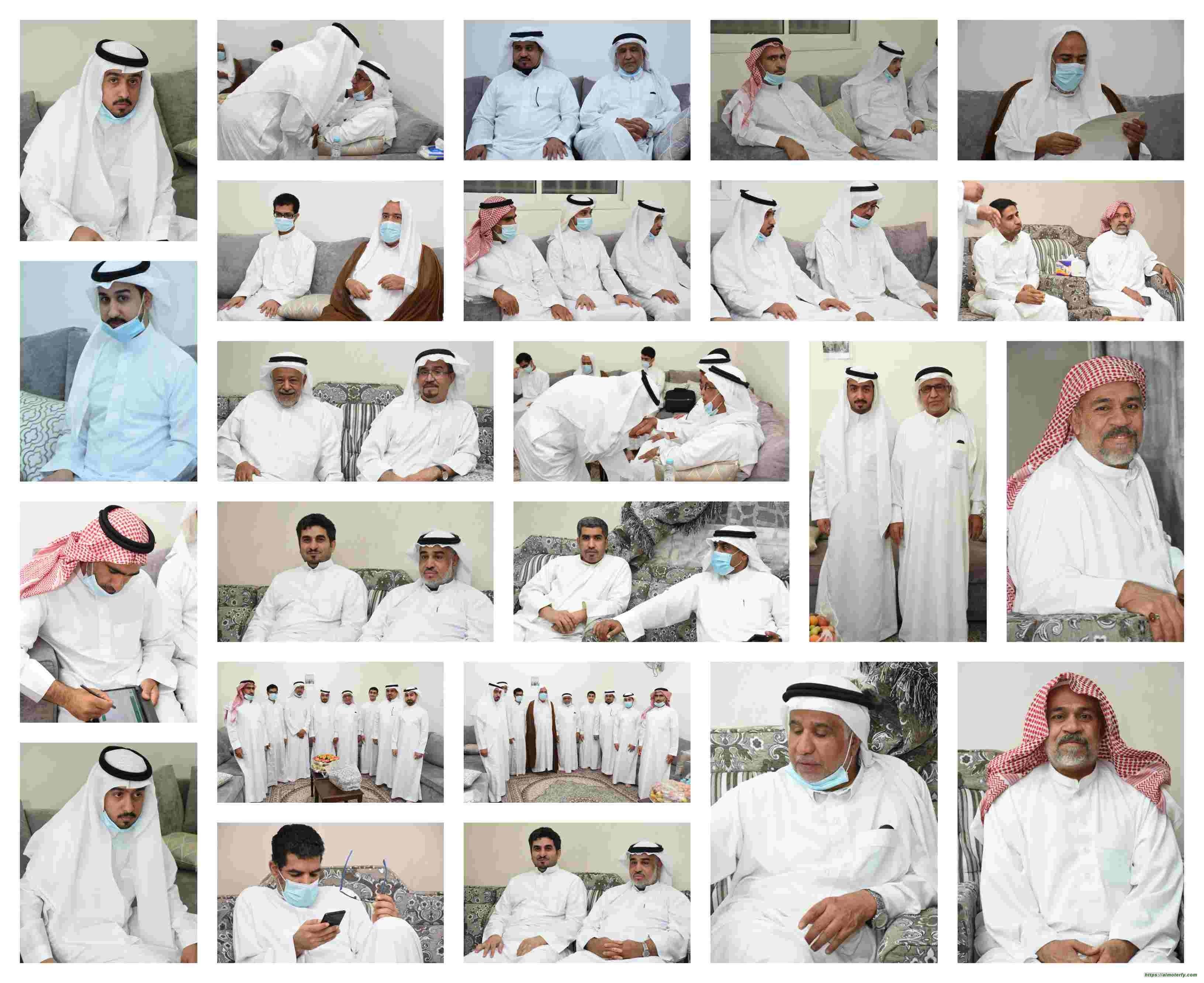 عقد قرآن الشاب  السيد ابراهيم السيد عبدالمحسن الهاشم تهانينا