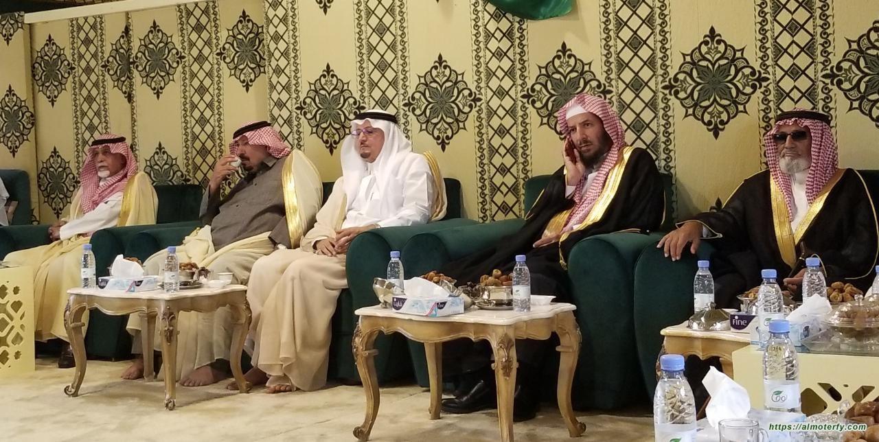 الشريع  يحتفي بمعالي الشيخ سعد الشثري