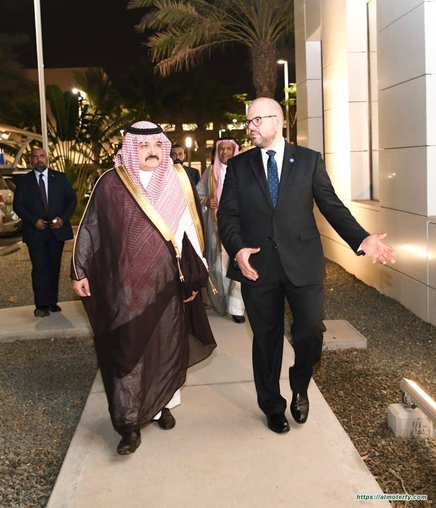 الأمير مشعل بن ماجد يشرف افتتاح مقر القنصلية العامة الأمريكية الجديد بجدة