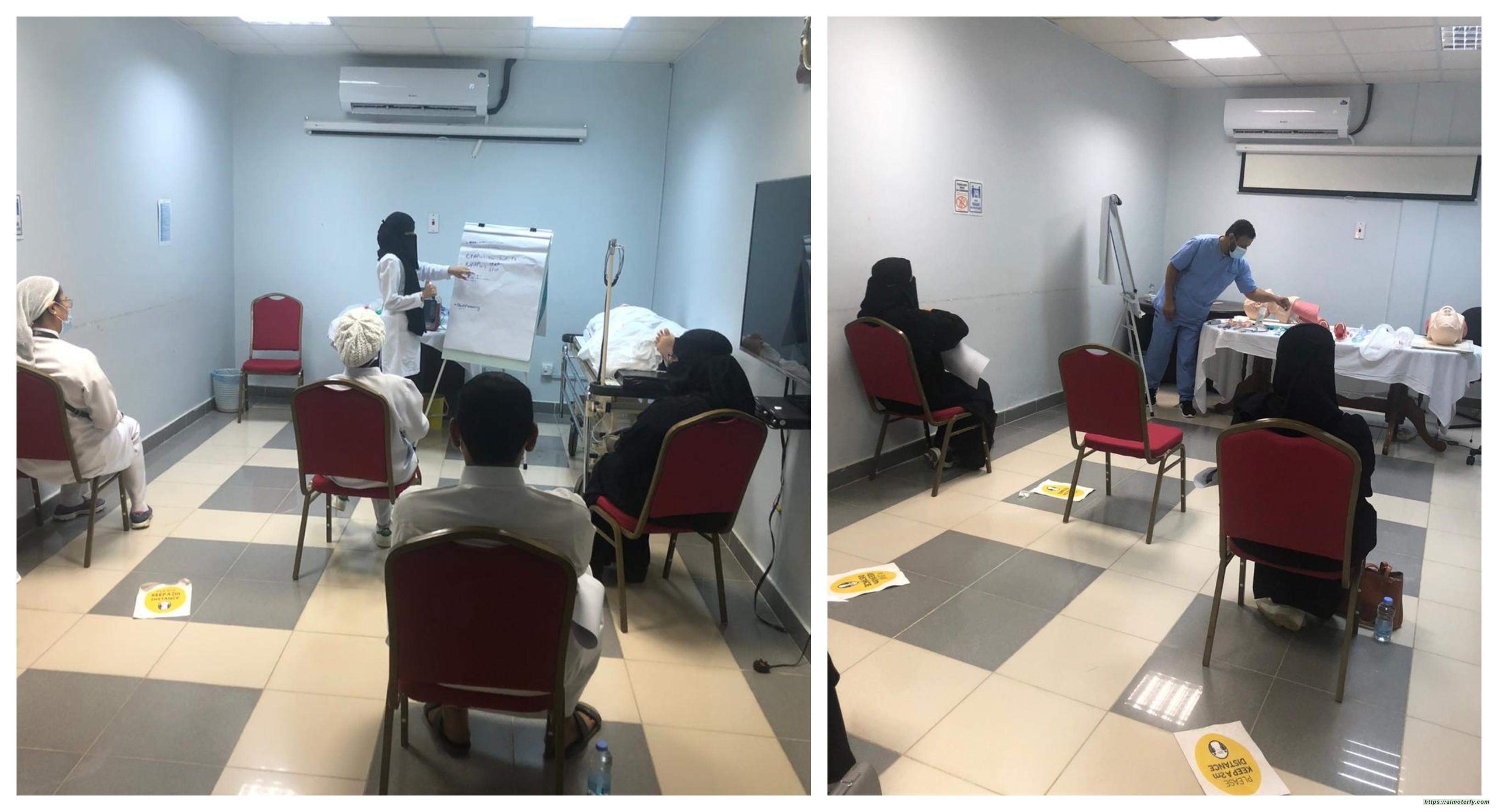 صحة جازان تنهي تدريب1131 ممرض وممرضة للتعامل مع كوفيد  19