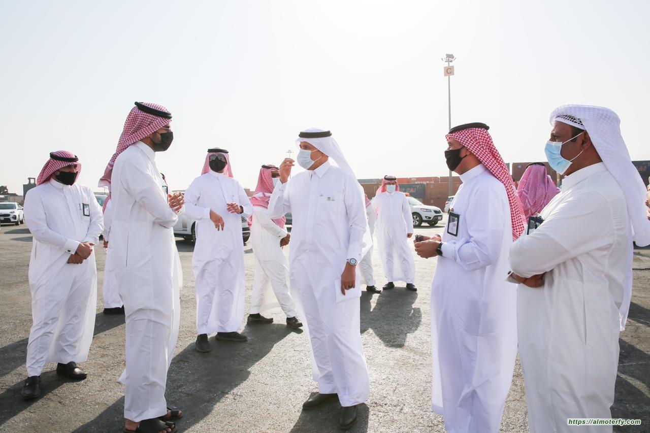 وزير النقل يزور جمرك الميناء الجاف بالرياض