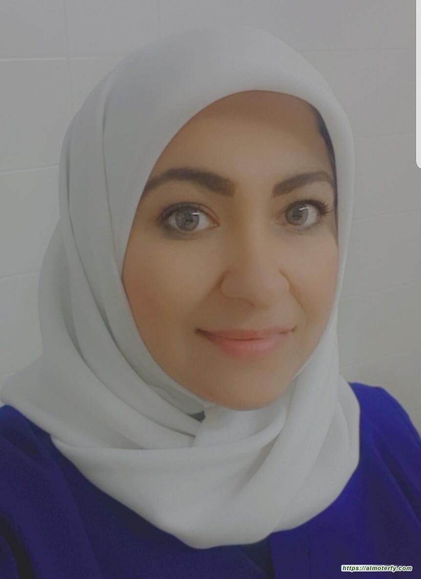 """الممرضة - أمل أحمد البستكي...  """"صيام كبار المواطنين"""""""