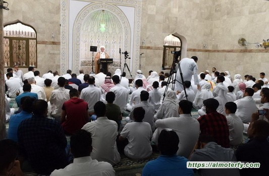 الشيخ اليوسف يدعو إلى إعمار المساجد بالمصلين