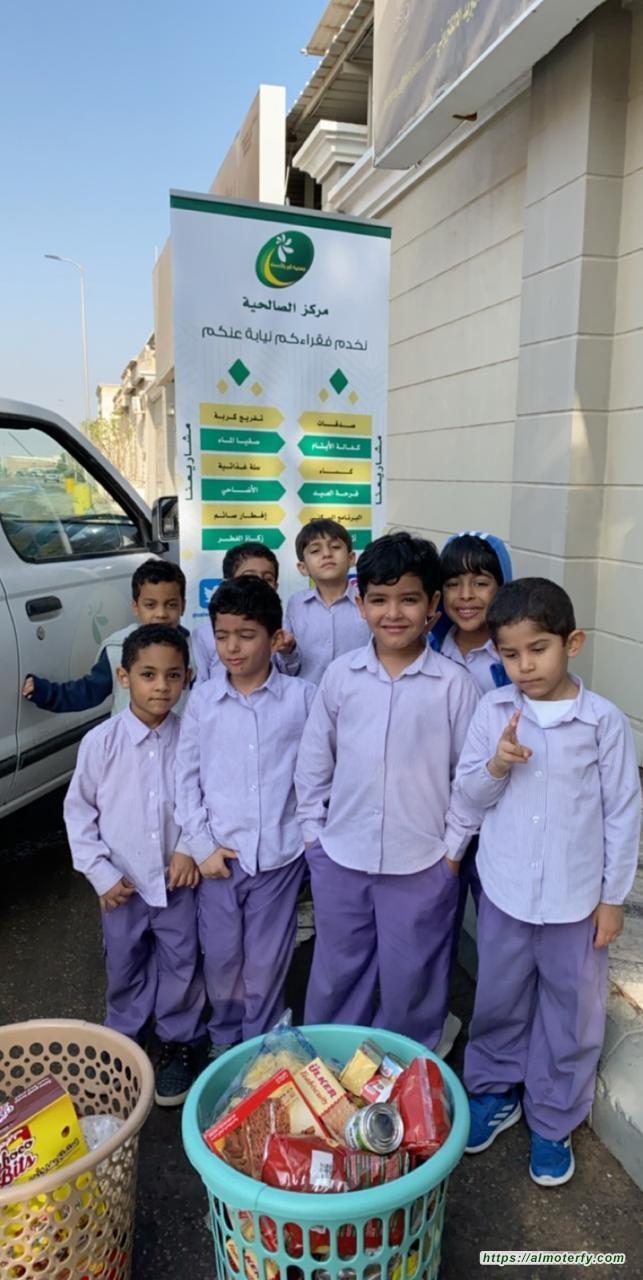 بالتعاون بين مركز بر الصالحية بالهفوف ونادي الزهور للأطفال (مبادرة بيدي اتصدق)