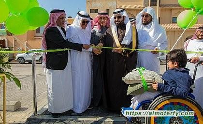 افتتاح حديقة الموسى ثاني حدائق نلعب معًا في الأحساء بالتعاون مع المهيدب لخدمة المجتمع
