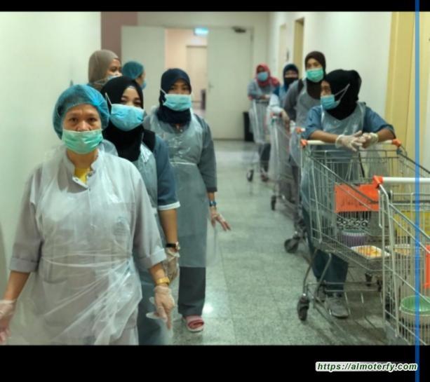 وقايةً من الفيروس التاجي  احترازات التغذية الآمنه في دار تربية الأحساء*