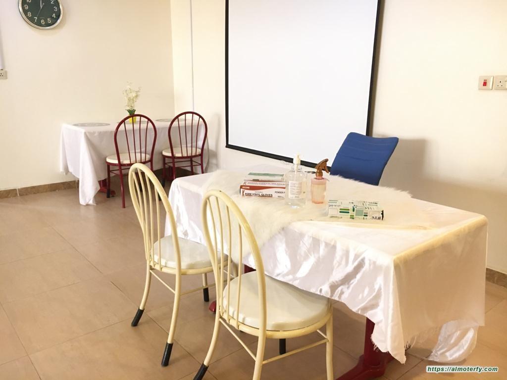 استكمال الإجراءات الاحترازية الوقائية بمكتب مكافحة التسول باستحداث غرفة عزل