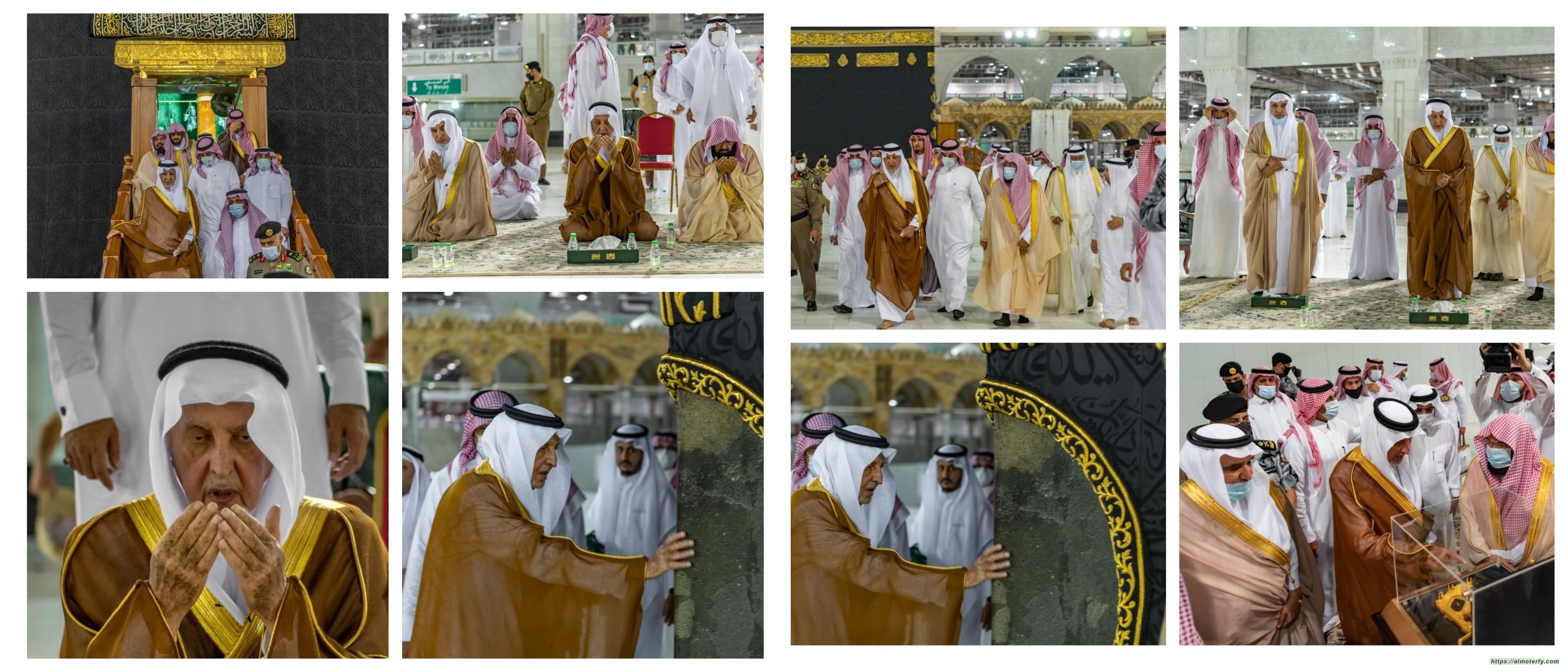 نيابة عن خادم الحرمين الشريفين أمير منطقة مكة المكرمة يتشرف بغسل الكعبة المشرفة وسط إجراءات احترازية مشددة