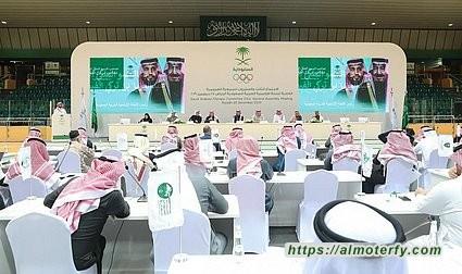 تكريم الأمير سلطان بن فهد بجائزة القائد الأولمبي المتميز في عمومية اللجنة الأولمبية بالرياض