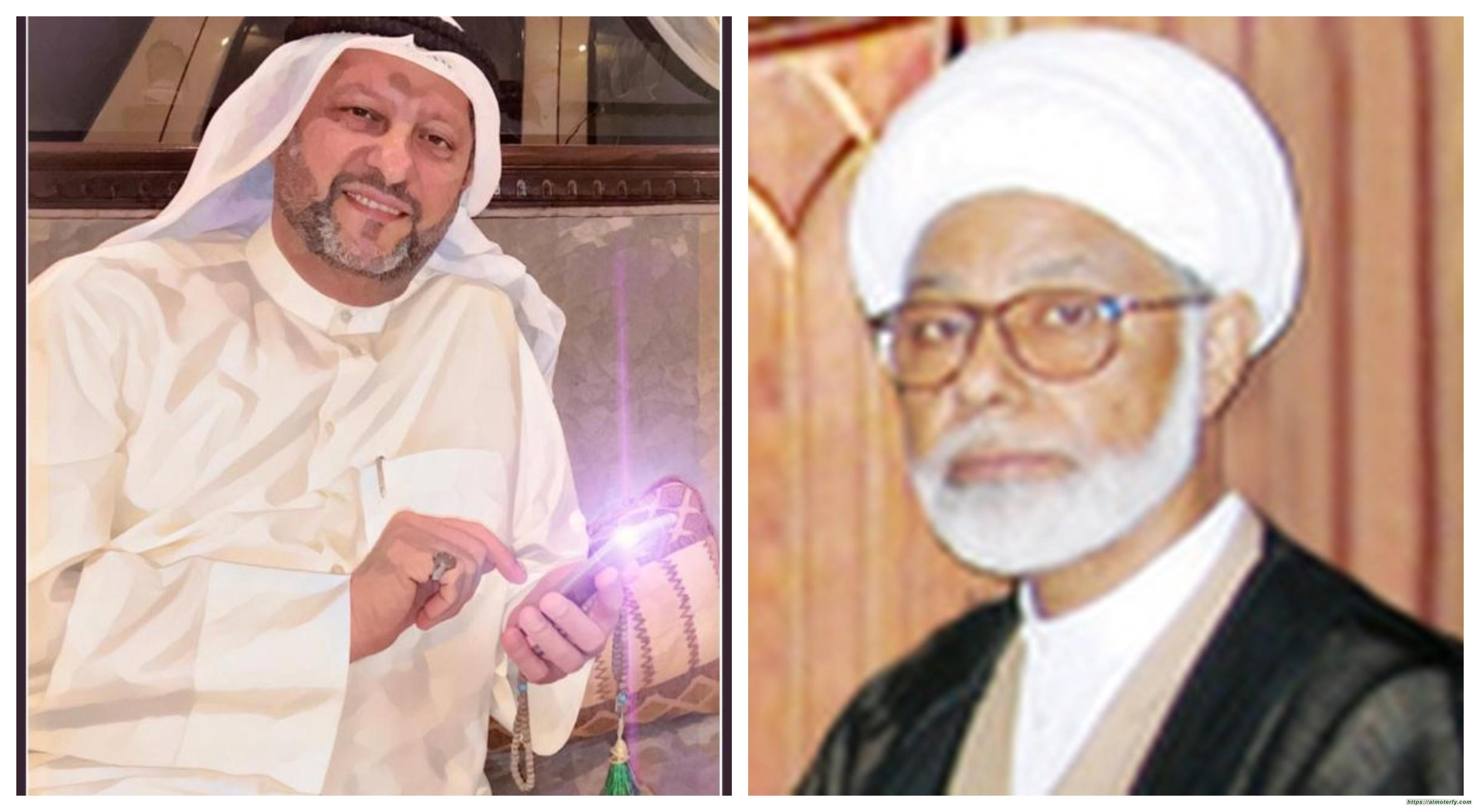 الشيخ عبدالله المزيدي (رحمه الله) عائلة المزيدي اسرة  علميه جليلة