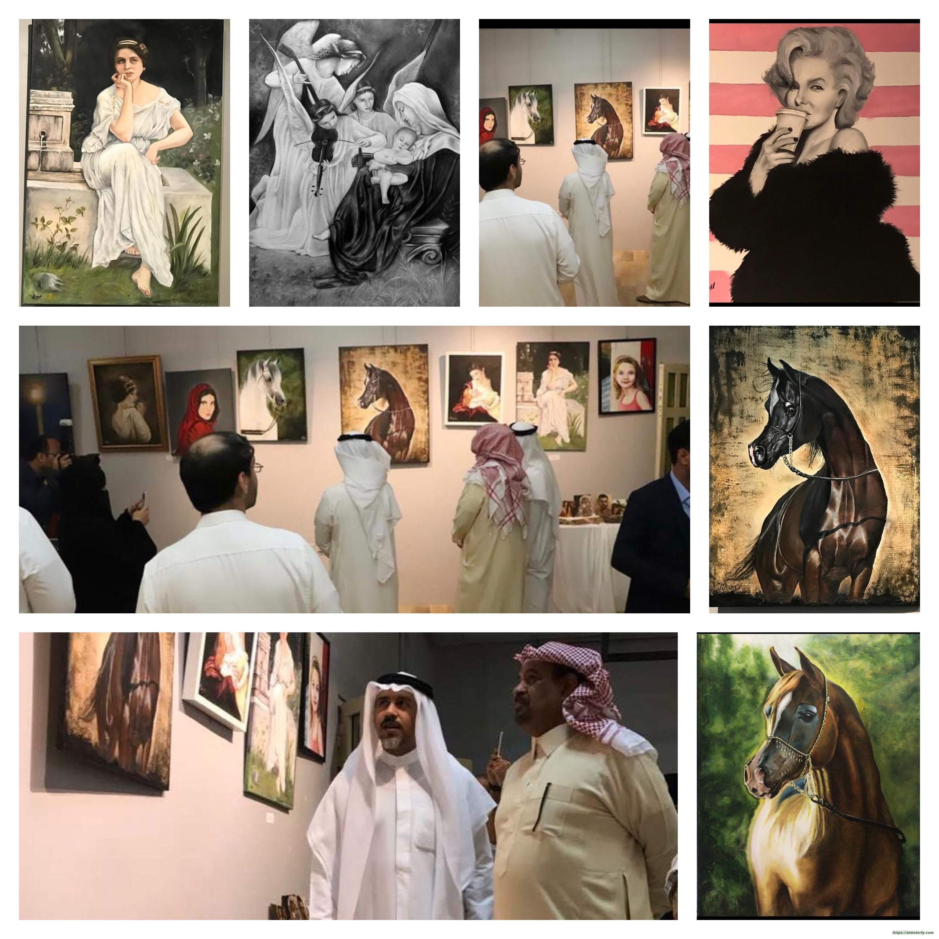 حوار-الفنانةالتشكيلية مريم _الرسم يعني لي حياة ثانية ومايميز لوحاتي هو الدقه بالتفاصيل والهدوء بالألوان