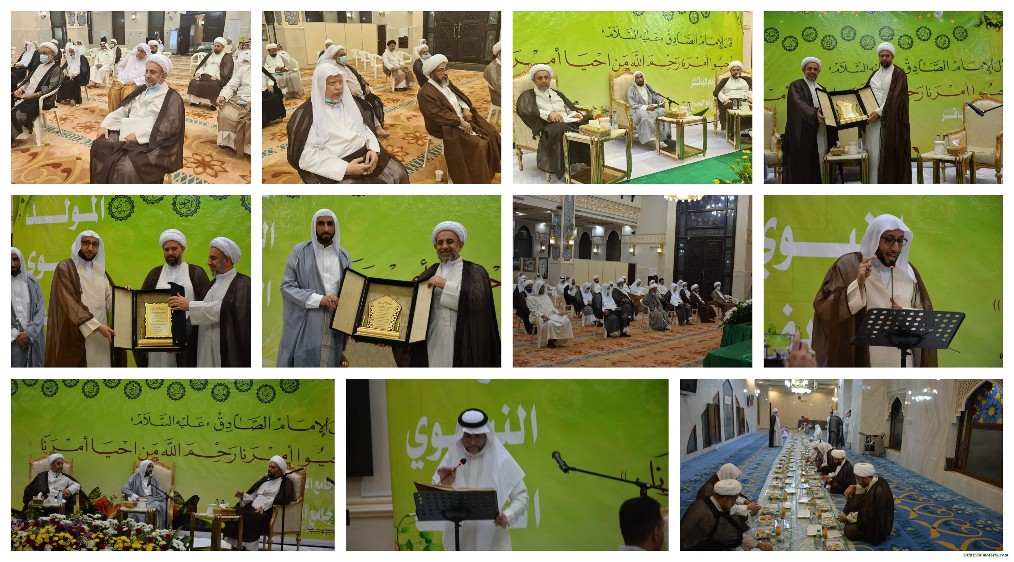 في ذكرى المولد النبوي الشريف، سماحة العلامة الشيخ حسين يقيم مأدبة إفطار
