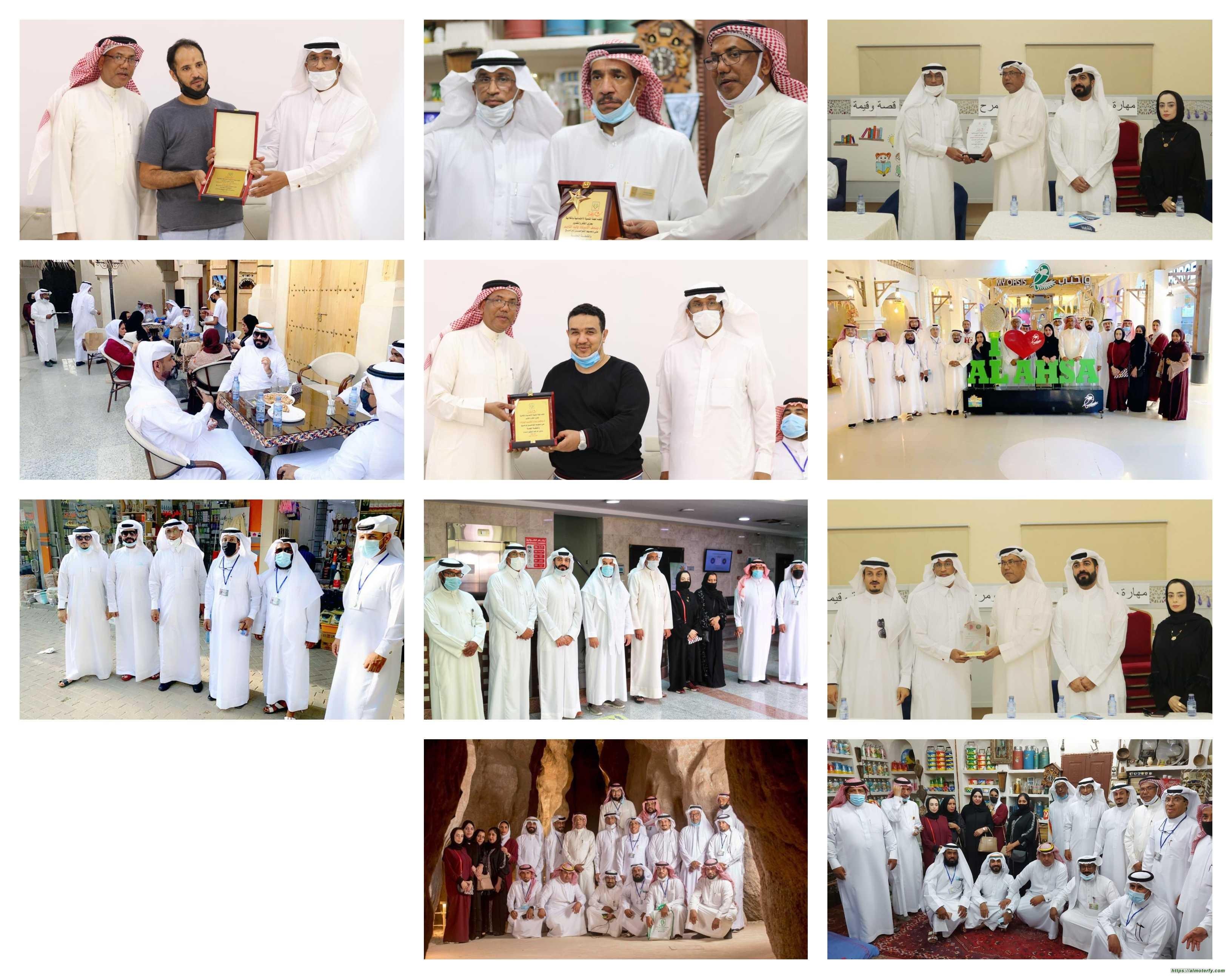 وفد من جمعية البحرين للعمل التطوعي في ضيافة لجنة التنمية الاجتماعية بالكلابية