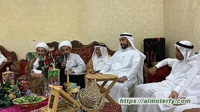 رجل الاعمال عبداللطيف النمر يحتفل بعقد قران المهندس علي