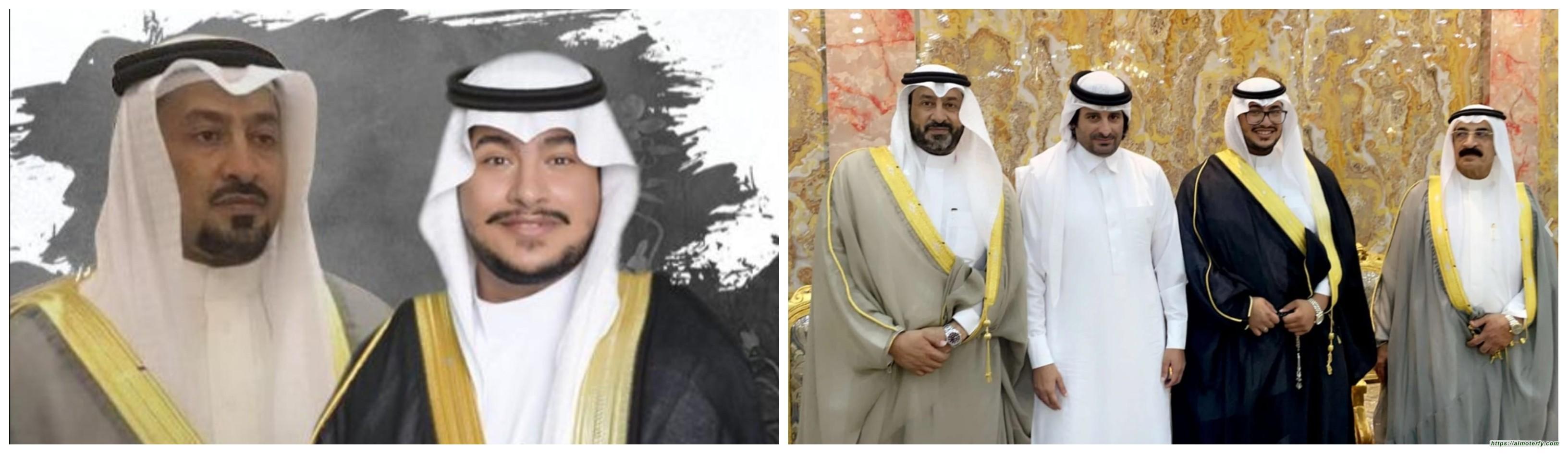 الناصر مدير فرع بنك الاهلي بالمبرز يحتفل بزواج نجله (( محمد ))