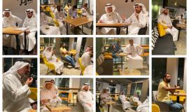 مقهى  تون بالهفوف في الاحساء يشهد توقيع ديوان (اغنية الماتم)للشاعر الكبير جاسم عساكر وامسية حوارية .