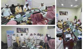 المقيرن رئيس اللجنة البارالمبية السعودية يشيد بجهود نادي ذوي الإعاقة بالإحساء