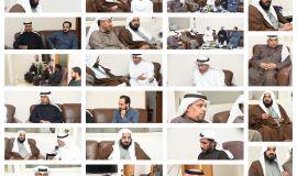 مركز بر المطيرفي يستقبل ويكرم سماحة الشيخ حسين العباد