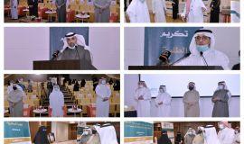 معالي رئيس جامعة الملك فيصل يرعى حفلا لتكريم الطلبة المتميزين من كلية إدارة الأعمال