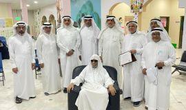 خيرية القارة تكرم الرؤساء السابقين وتدشن الخدمات الالكترونية
