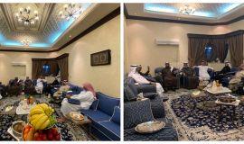لجنة خدمة المجتمع تعقد اجتماعاً بحضور رئيس اللجنة وجميع الأعضاء