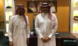 مدير مكتب العمل القحطاني يلتقي برئيس النيابة العامة بالجبيل