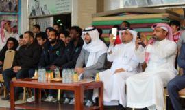 بحضور نجوم نادي الفتح وهجر مدارس رؤية المستقبل الأهلية تفتتح بطولة الرؤية.