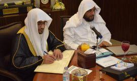 الشيخ المغامسي في ضيافة سمو نائب رئيس مجلس أمناء مؤسسة قبس للقرآن والسنة والخطابة