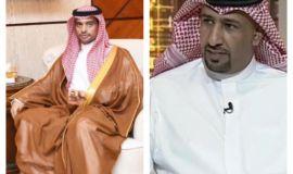 الشيخ منيف بن دمخ يهنئ رئيس ادارة المجاهدين بالمنطقة الشرقية