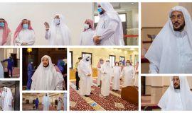 قبل إعادة فتح المساجد الأحد القادم  وزير الشؤون الإسلامية تفقد عدداً من المساجد والجوامع بمدينة الرياض لتأكد من جاهزيتها