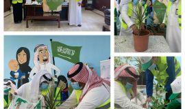 """أحداث ملاحظة الدمام يشاركون في مبادرة """" اغرسها للعيد"""""""