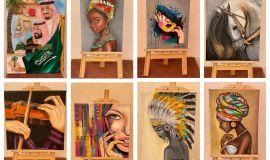 التشكيلية الاحسائية  سليمة الشيخ  تحكي تجربتها الفنية في أول حوار صحفي