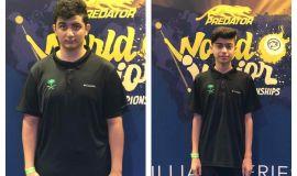 خروج مشرف لأبطال الأخضر من بطولة العالم للبلياردو