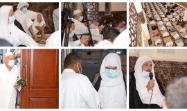 افتتاح مسجد الرسول الاعظم في بلدة الجرن بالاحساء