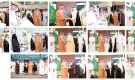 تحت رعاية سمو أمير المنطقة الشرقية سمو محافظ الأحساء يفتتح معرض وفعاليات أسبوع المهنة في جامعة الملك فيصل