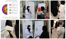 2320 برنامج توعوي عن أهمية الرضاعة الطبيعية على الأم والطفل في صحة الأحساء