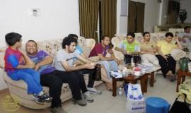 الاجتماع  السادس لابناء القرية العاملين بمدينة الجبيل الصناعية