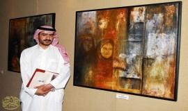 لقاء حواري مع الأستاذ و الفنان التشكيلي سامي الحسين