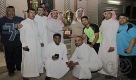 مجالس المطيرفي تحتضن كأس البطولة للتاج وتقدم التهاني والتبريكات
